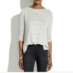 MADEWELL heathered ferry sweater